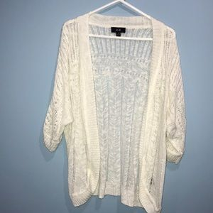 AGB off white cardigan